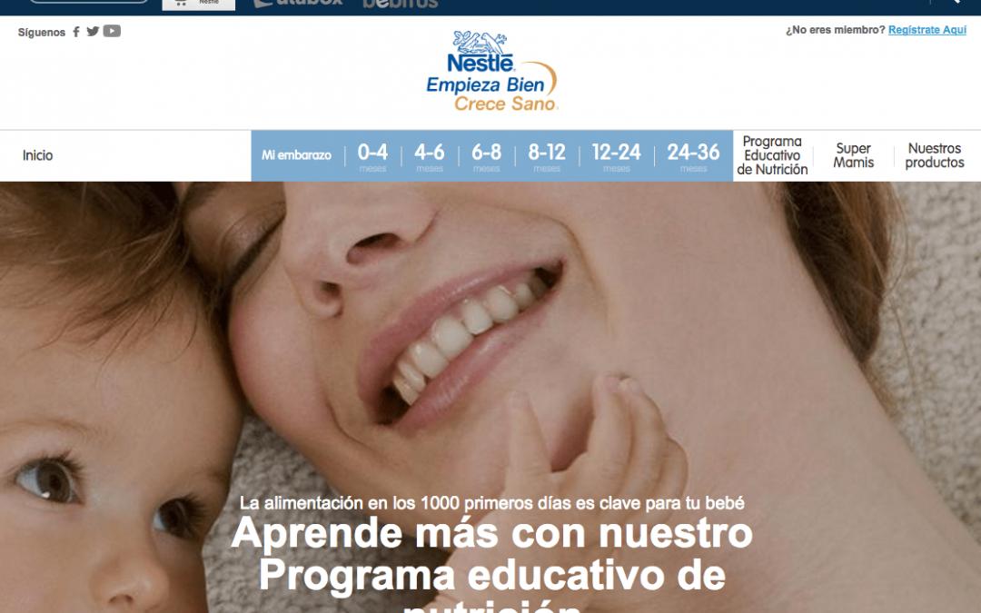 Recibir Muestras gratis Bebés Nestlé a domicilio