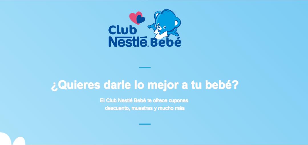 Muestras gratis Bebés – Nestlé