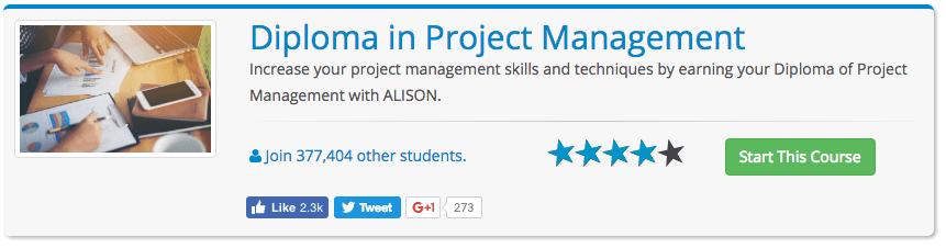 Curso Gratis Project Management