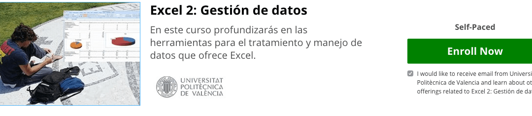 Curso Gratis Excel 2: Gestión de datos