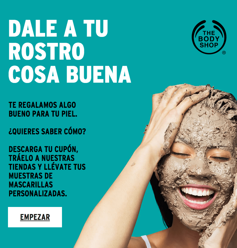 Muestras gratis Body Shop