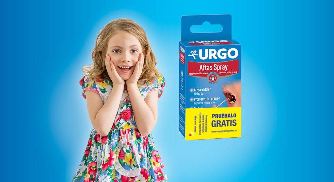 Prueba gratis reembolso URGO Aftas Spray