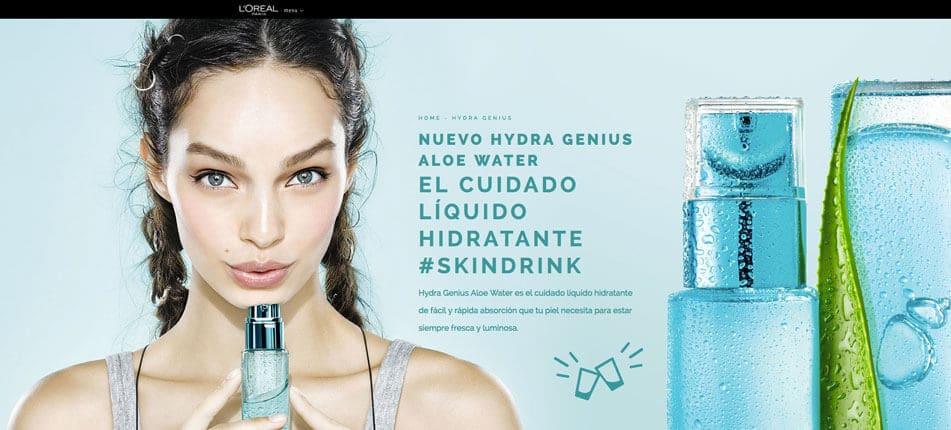 Muestras gratis l'Oréal – crema Hydra Genius Aloe Water