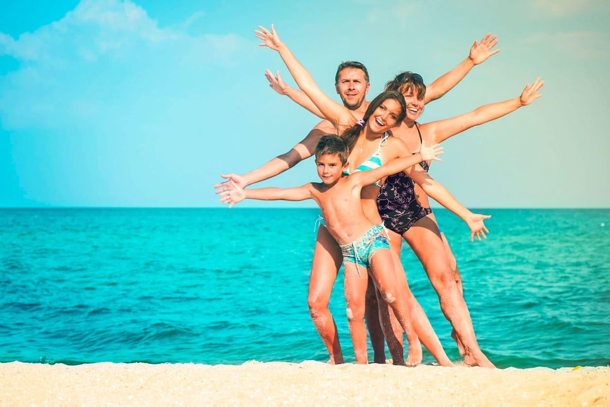 Las 6 mejores playas para ir en familia