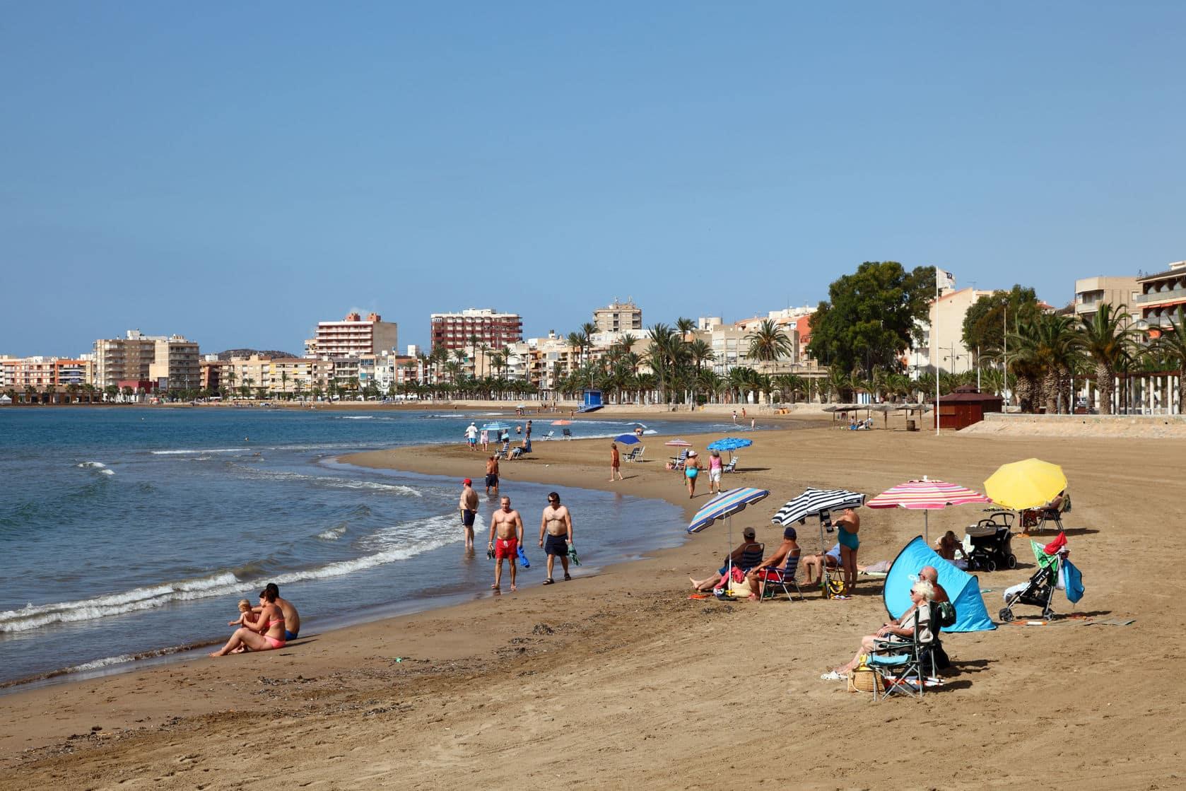 playas para ir en familia