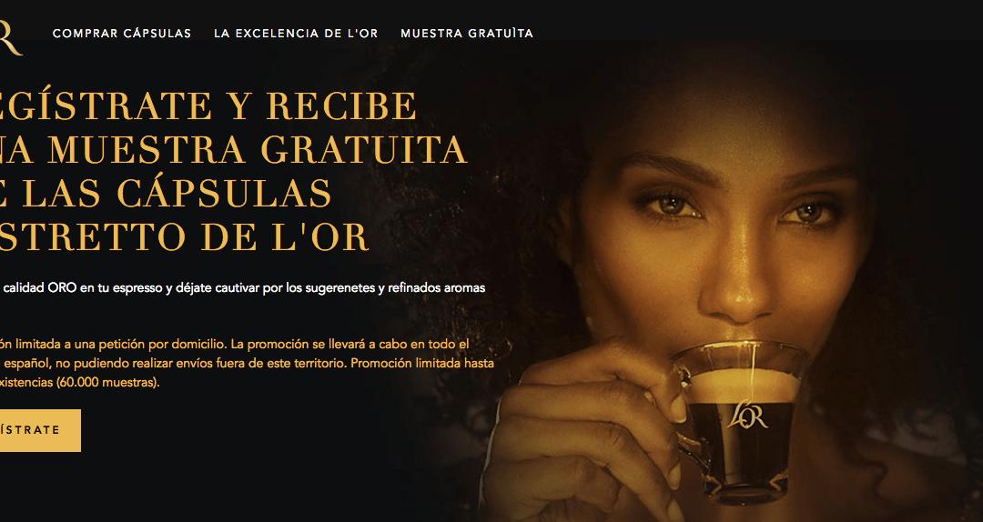 Muestras de Café L'Or Espresso