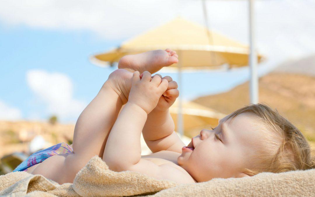 Cómo proteger a nuestro bebé del sol