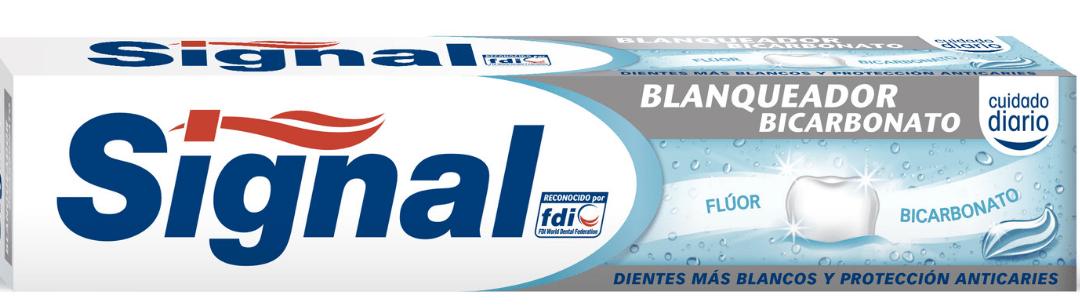 Cupón de descuento dentífrico Signal
