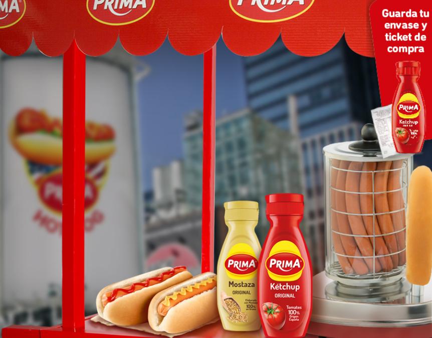 Prueba Gratis el kétchup Prima Cero