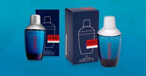 Muestras gratis Dark Blue de Hugo Boss