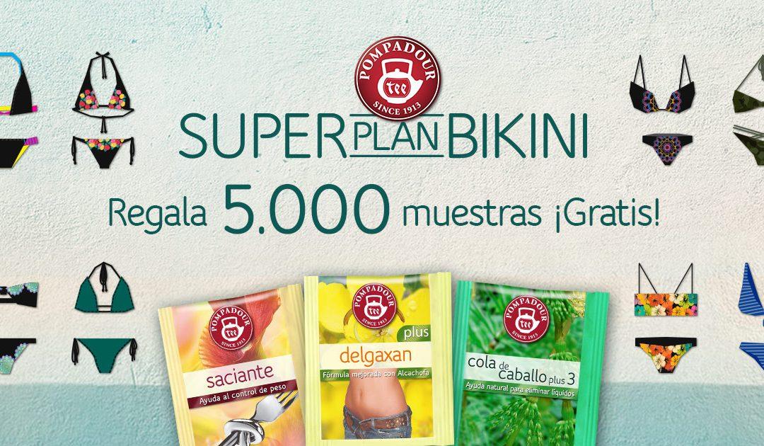 Muestras gratis Pompadour – Super Plan Bikini