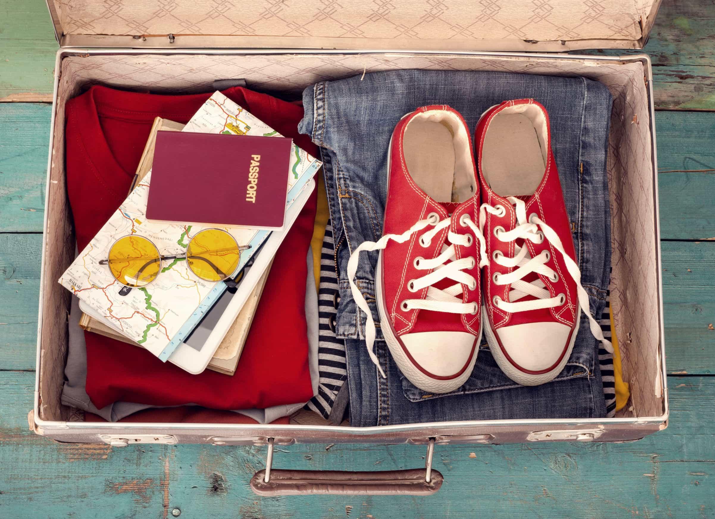 Viajar con muestras