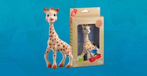 Consigue una Muestra Gratis del mordedor Sophie La Girafe