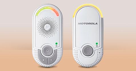 Consigue una Muestra Gratis de un Vigilabebés Motorola