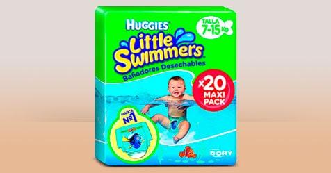Consigue una Muestra Gratis de Huggies Little Swimmers