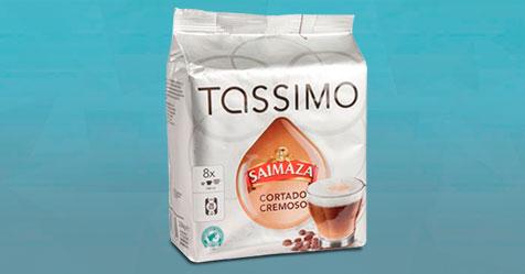 Consigue una Muestra Gratis de las cápsulas Tassimo Saimaza
