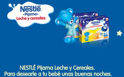 gratis un lote de Nestlé Pijama