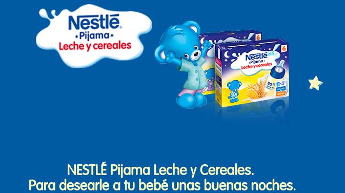 Llévate gratis un lote de Nestlé Pijama