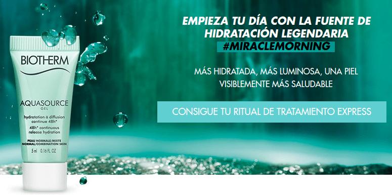 Solicita tu muestra gratis de Biotherm
