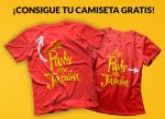 camiseta gratis con Argal