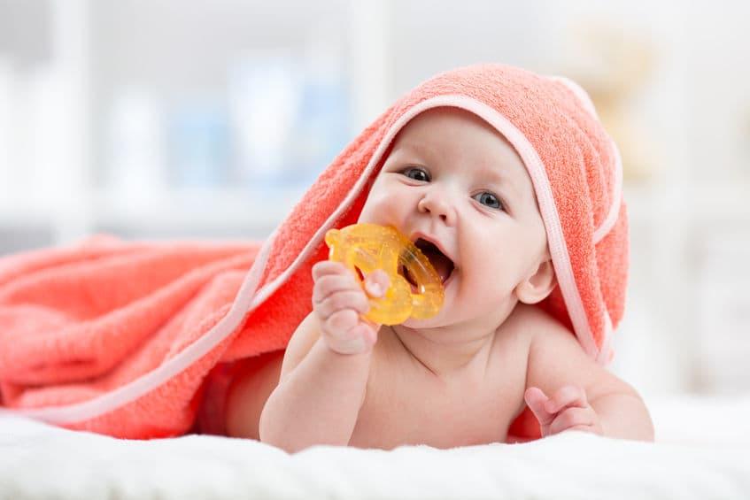 Los 5 mejores mordedores para bebé