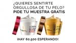 muestras gratis de Mascarillas L'Oréal