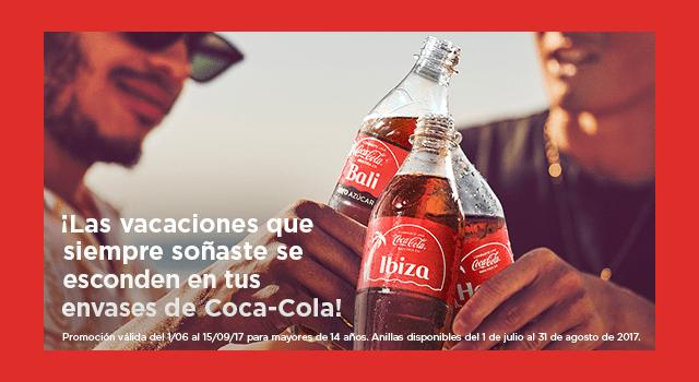 Llévate un viaje cada día con Coca-Cola