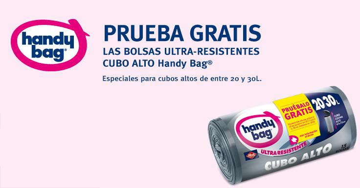 Prueba Gratis las bolsas ultra-resistentes cubo alto de Handy Bag