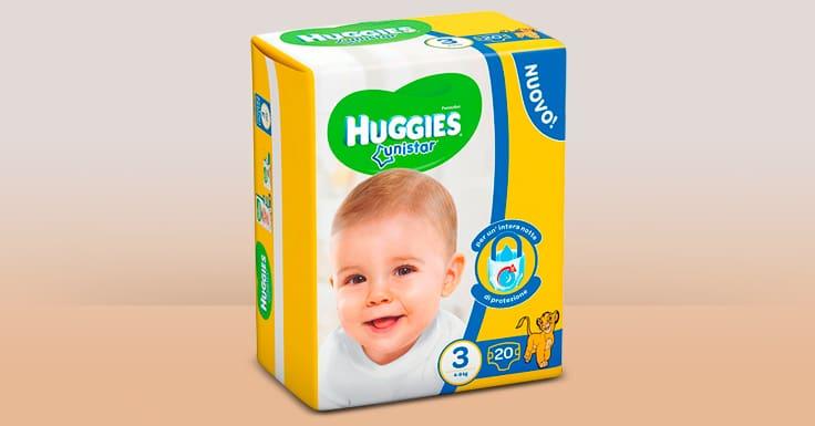 Consigue una muestra gratis de pañales Huggies Unistar