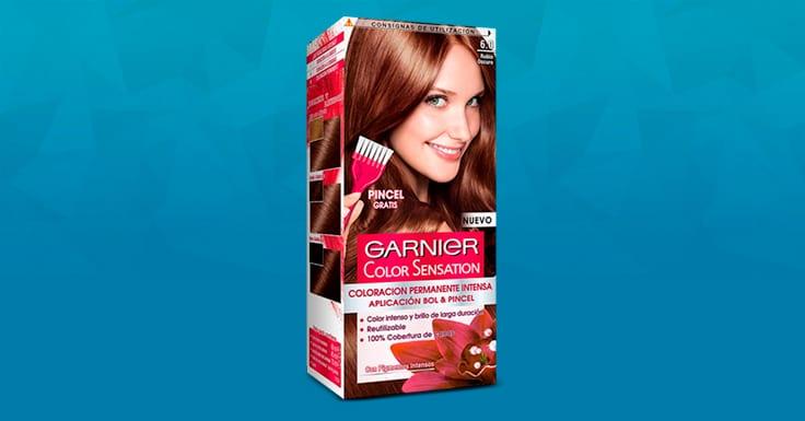 Consigue una muestra gratis de Color Sensation de Garnier