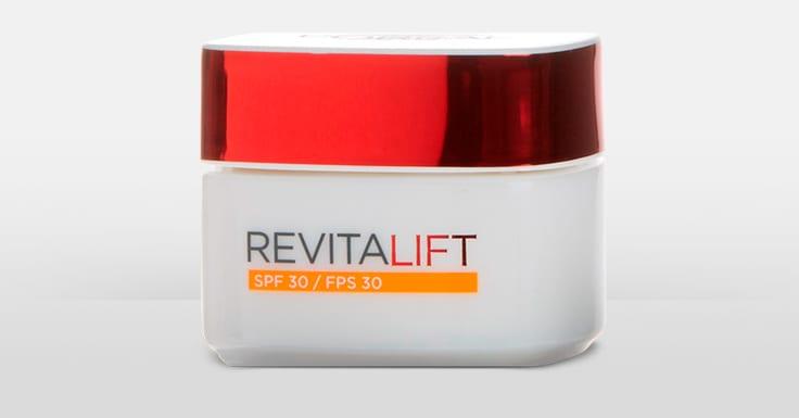 Consigue una muestra gratis de Revitalift de L'Oréal