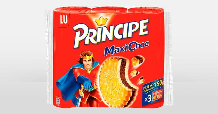 Consigue una muestra gratis de Príncipe Maxi Choc