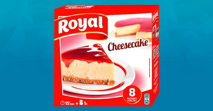 Consigue una muestra gratis de Cheesecake de Royal