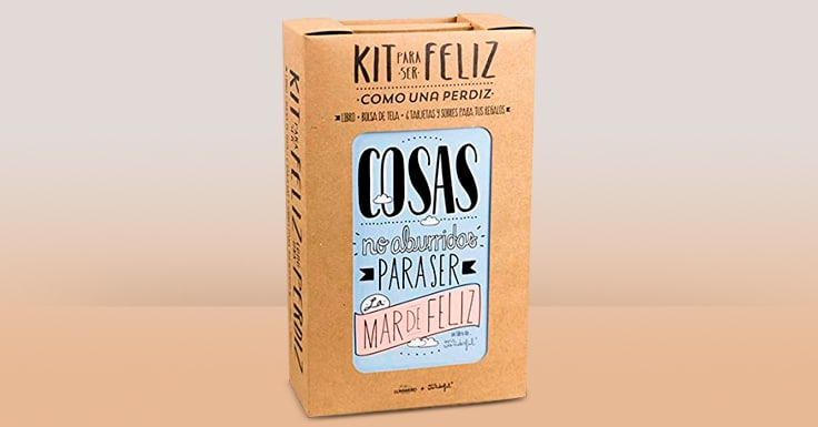 Consigue una muestra gratis del Kit para ser feliz como una perdiz de Mr Wonderful