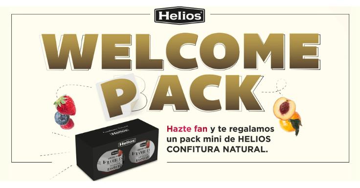 Llévate gratis un pack mini de Helios Confitura Natural