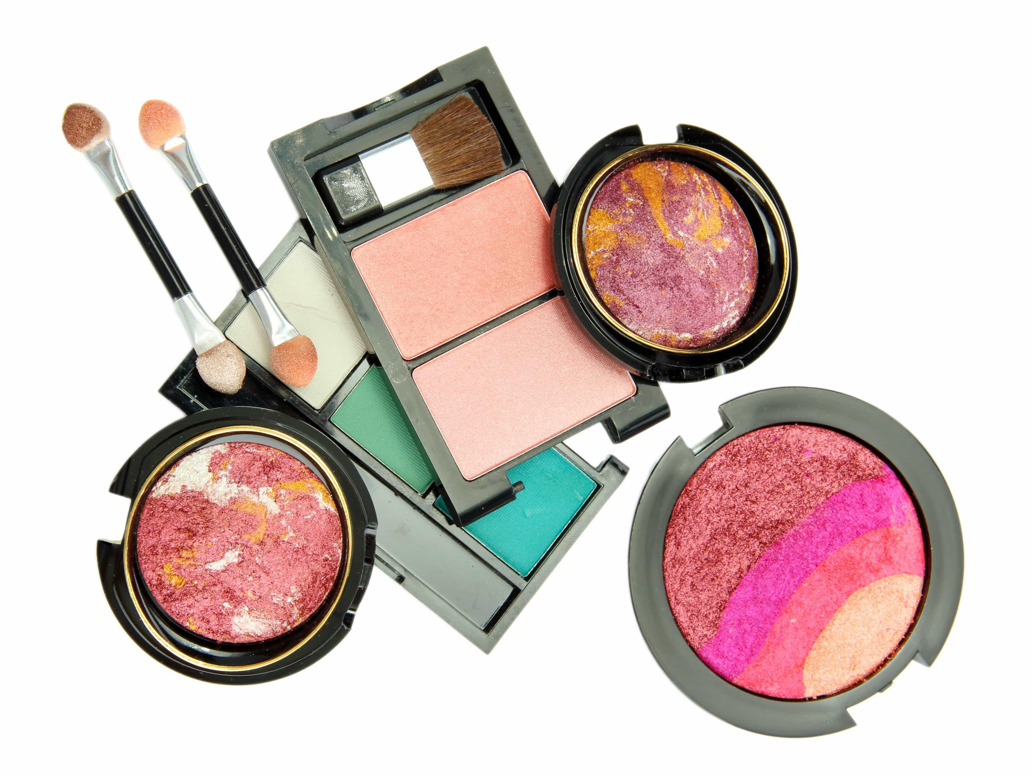 mantener una buena higiene en los productos de maquillaje