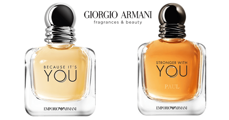 Llévate una muestra gratis del perfume You de Armani