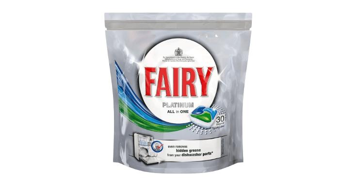 ¡Hazte con tu descuento de 2 euros para Fairy Platinum!