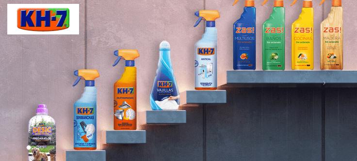 ¡Consigue gratis un lote de productos KH-7!