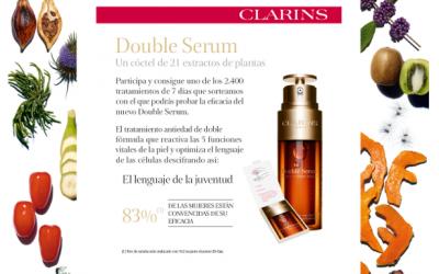 tratamiento Double Serum de Clarins