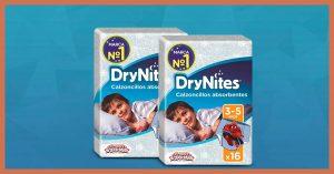 muestra gratis de calzoncillos DryNites