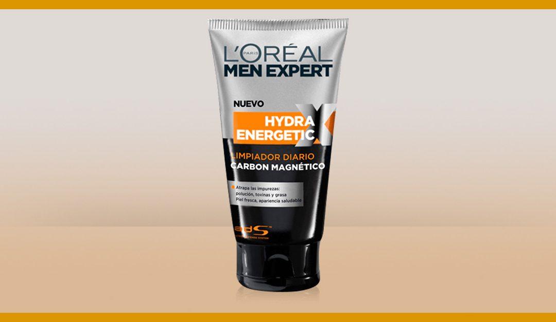 Consigue una muestra gratis del limpiador Hydra Energetic de L'Oréal Men Expert
