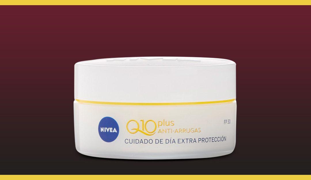 Consigue una muestra gratis de Nivea Q10 Plus
