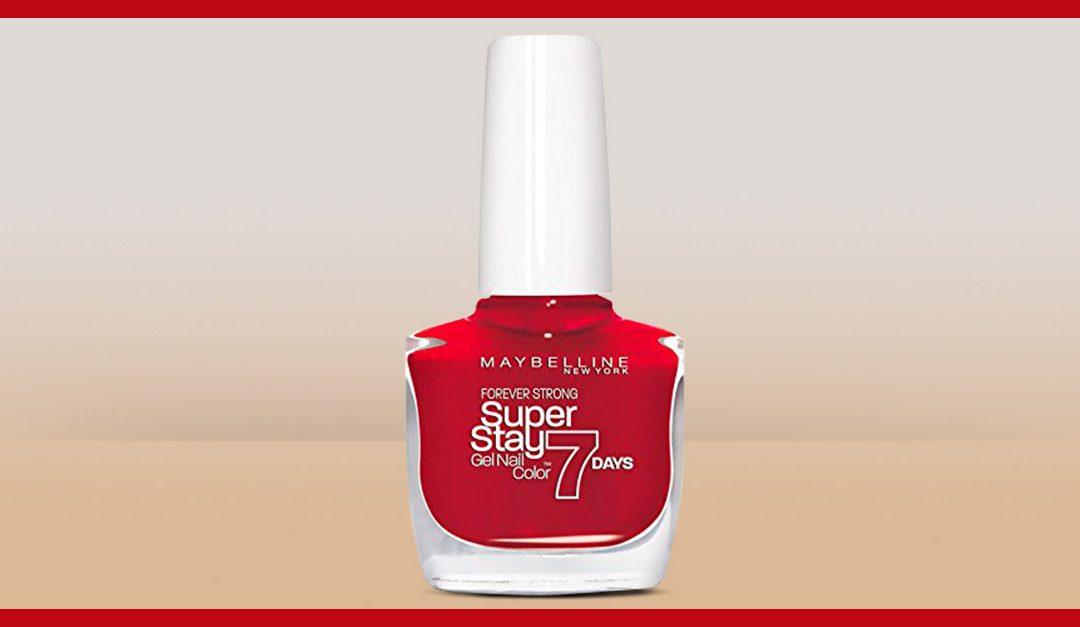 Consigue una muestra gratis del esmalte de uñas Superstay de Maybelline