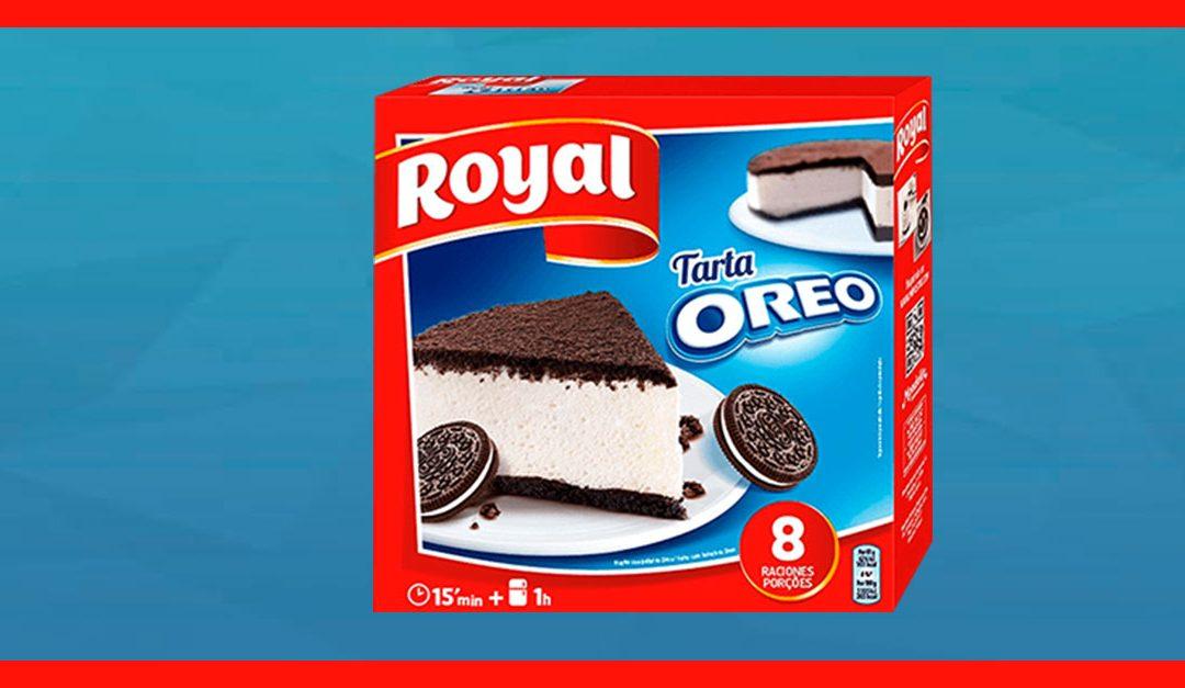 Consigue una muestra gratis de Tarta Oreo de Royal