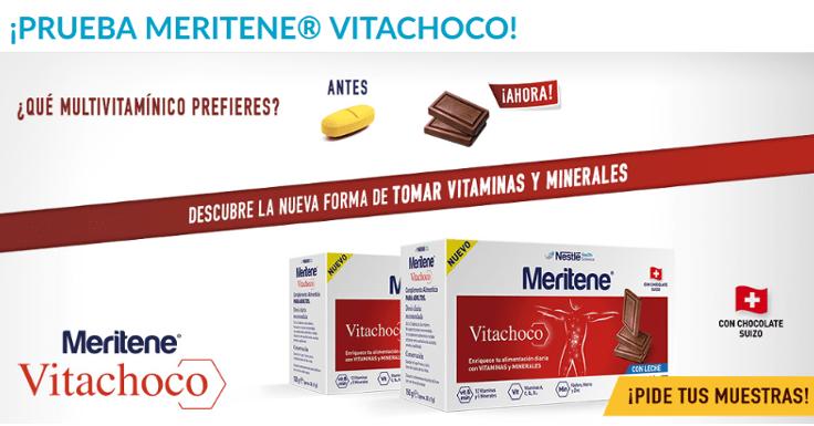 Prueba una de las 28.500 muestras gratis de Meritene Vitachoco