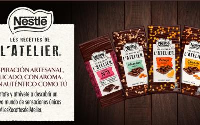 Prueba gratis el chocolate L'Atelier de Nestlé