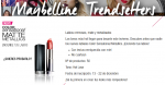 gratis el labial Color Sensational Matte Metallics de Maybelline