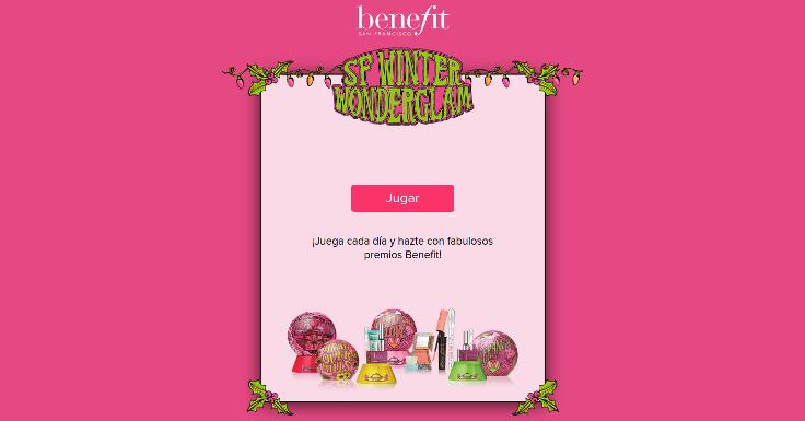¡Juega y consigue premios con Benefit!