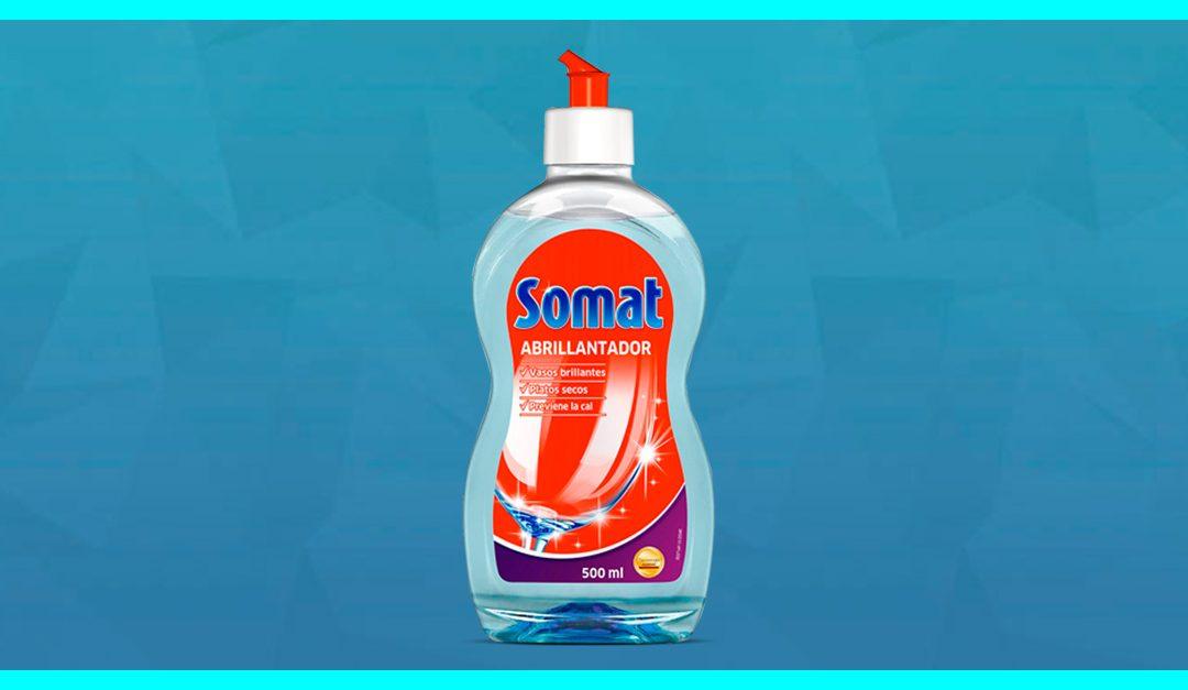 Consigue una muestra gratis del abrillantador Somat